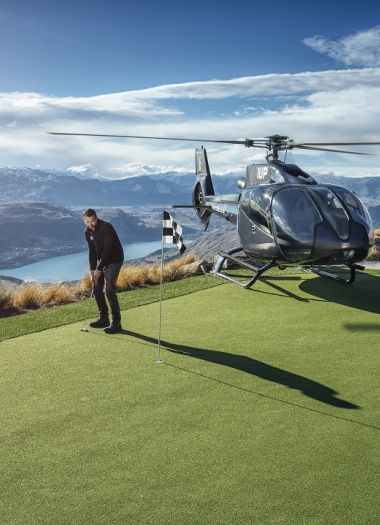 Heli Golf Queenstown | Robertson Lodges