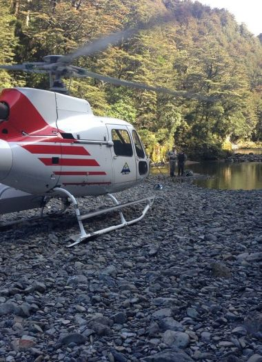 Heli Fishing New Zealand | Robertson Lodges